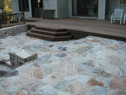 Stone Patio Designs Pictures by Deck And Patio Design