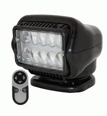 go light magnetic base led stryker searchlight w wireless handheld remote magnetic base
