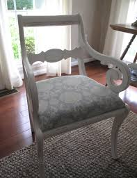 Reupholstering A Dining Room Chair Upholstering A Dining Room Chair Scavenger Chic