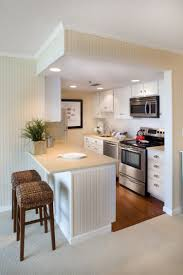 how to design a small kitchen layout small but perfect for this beach front condo kitchen designed by