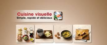 cuisine visuelle simple rapide et délicieux pour iphone