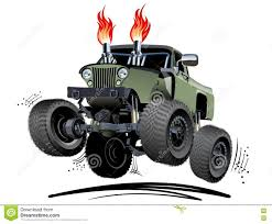 bigfoot monster truck cartoon monster truck cartoon u2013 atamu