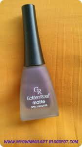 golden rose matte nail lacquer review nail mania