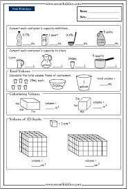 collection of solutions converting measurements ks2 worksheets on