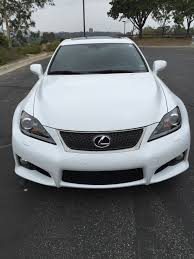 lexus white interior ca 2013 lexus is f ultra white with black interior all stock and