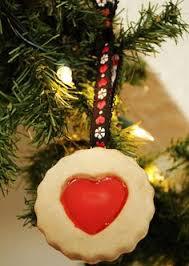 pretzel handmade salt dough food tree ornament