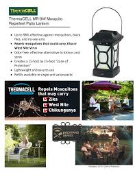Backyard Fly Repellent Thermacell Mosquito Repellent Patio Lantern Mr 9w The Home Depot