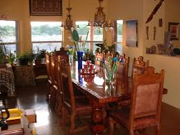 the dining room table down by the river bed and breakfast