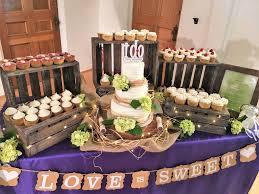 cupcake displays rustic wedding cake and cupcake display
