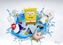 the spongebob movie sponge out of water drawing by