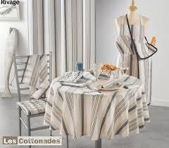 service de cuisine nappage tradition de coton ensemble de nappe naturel