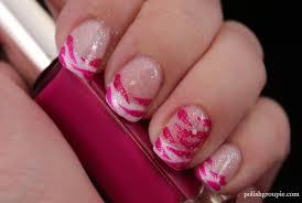 30 day challenge day 13 u2013 animal print zebra french manicure