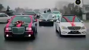 roll royce karachi zafar supari brother u0027s wedding 100 cars gifts in islamabad youtube