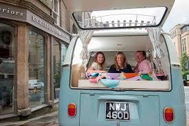 volkswagen old van interior harrogate interiors business helps restore classic vw campervan