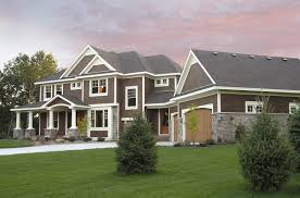 craftsman home plan luxurious craftsman home plan 14419rk architectural designs