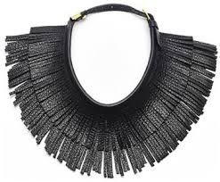 collar necklace leather images Hayden harnett ilaria leather fringe collar necklace where to jpg