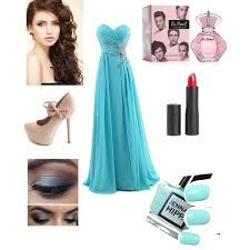 my pov of my prom dress makeup and hair u003c3 liliana xx polyvore