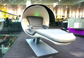 dream on the job in this new improved sleep pod