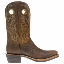 ariat s boots size 12 ariat s heritage roughstock cowboy boots academy