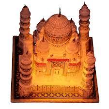 Occasion Soapstone Premium Quality Real Stone Hand Carved 4 Inch Taj Mahal Statue