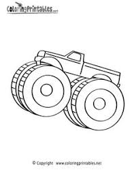 monster truck coloring page color monster trucks