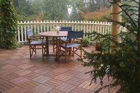 Patio Interlocking Tiles by Swiftdeck Wood Tiles Over An Existing Patio Ourdoor Flooring