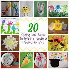 over 20 spring handprint u0026 footprint craft ideas for kids the