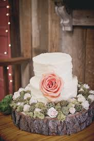 rustic vintage wedding blush rustic vintage wedding white cakes woods and cake