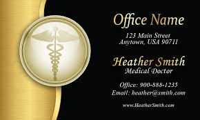 medical doctor business card design 301351