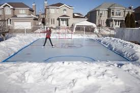 Hockey Rink In Backyard by Backyard Ice Rink Kits Arctic Backyard Ice Rink X Backyard Ice