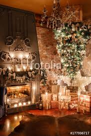 alternative tree on the ceiling winter home decor