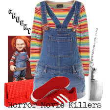 chucky sweater chucky horror killers polyvore