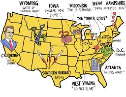 map us iowa map of america according to donald washington post