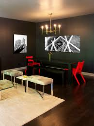 bedroom winning red dining room chairs white and black