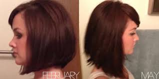 grow hair bob coloring how to grow out your hair beauty bets