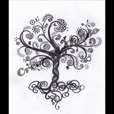 i want this but i want the branches to spell my names my