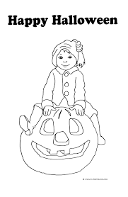 Free Printable Halloween Greeting Cards by Halloween Coloring Pages