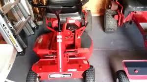 snapper sr1433 rear engine rider youtube