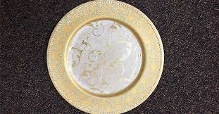 decorate dollar tree charger plates to match your décor the