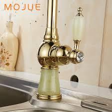 Retro Kitchen Faucet Mojue Kitchen Faucet Golden Retro Sink Mixers Faucets Basin Tap