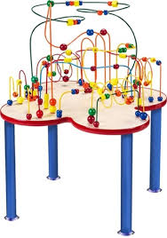 table toys play table fleur rollercoaster kids play table child play furniture waiting