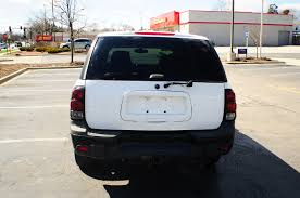2003 chevrolet trailblazer lt 4dr white suv used sale