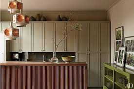 what color to paint kitchen walls with cabinets painted kitchen cabinet ideas architectural digest