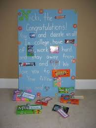 graduation gifts for high school candy bar graduation poster i made for braden party time