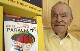 what color is your parachute author richard bolles has died his