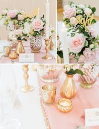 pink white gold wedding how to style a pink and gold wedding table gold wedding wedding