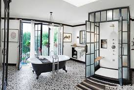 black and white bathrooms 15 black and white bathroom ideas black white tile designs we love