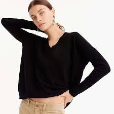 boyfriend sweaters j crew v neck boyfriend sweater in everyday rank style