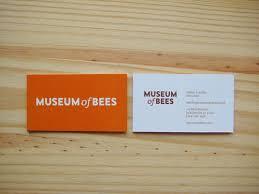 matt yow museum of bees business cards