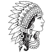 25 beautiful indian head tattoo ideas on pinterest indian skull